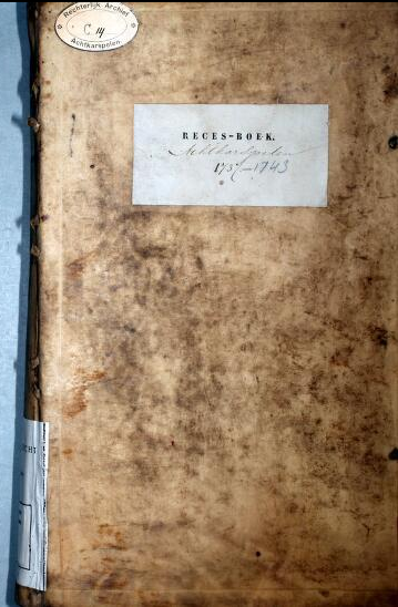 voorkantrecesboekachtkarspelen-1737-1743